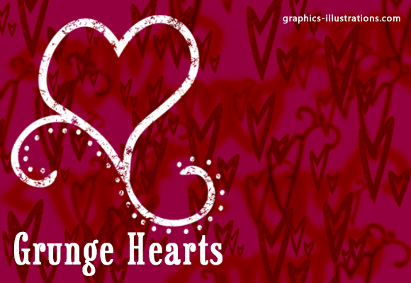 feature post image for Grunge Hearts Brushes, Photoshop download