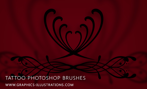 feature post image for Photoshop 7.0 brushes - Tattoo Designs