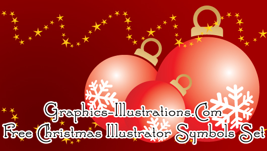 feature post image for Adobe Illustrator Symbols: Christmas Set