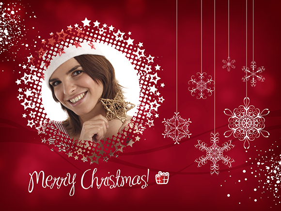 feature post image for Free Christmas Card Template for Photographers