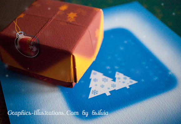feature post image for 4 Huge Christmas Graphics for Your Own Gift Box (free download)