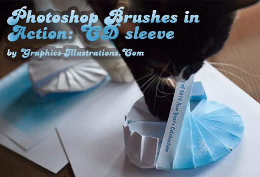 feature post image for Design your own CD/DVD sleeve w/Photoshop brushes
