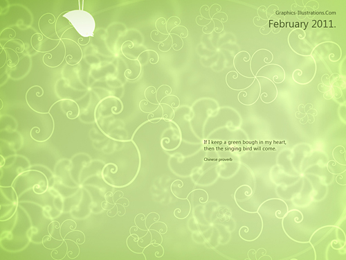 February Wallpaper