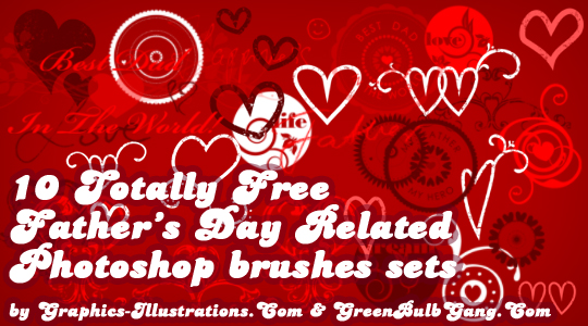 feature post image for 10 Day Photoshop Brushes Sets Quest; Stickers [Set 7/10]