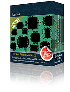 Special Mini pack: Bracket Photo Masks 2