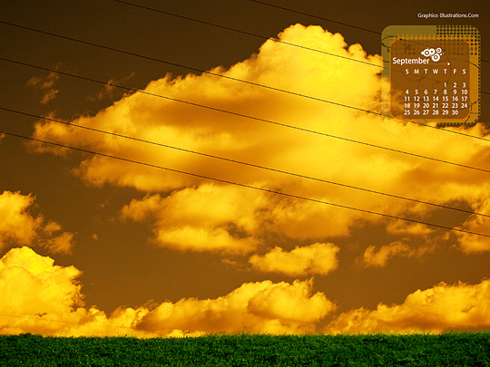 feature post image for [Free Download] Desktop Wallpaper Calendar: September 2011