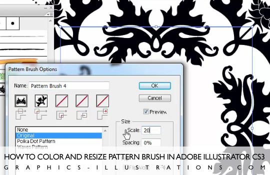 feature post image for Download Damask Illustrator Brushes&Illustrator Christmas Card [Tutorial Inside Too]