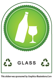Recycling, Marketing Tip And Stickers