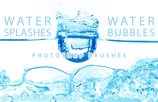 Photoshop Water Splash Brushes Water Photoshop Brushes Set