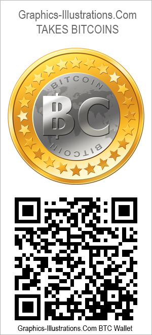 Graphics-Illustrations.Com takes BitCoins