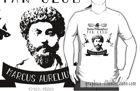 feature post image for Making Of Marcus Aurelius Fan Club Logo & A TShirt